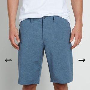 Volcom Men's Size 32 Light Blue Shorts